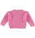 Maglia girocollo in tricot bouclè sarabanda CICLAMINO - 2812 back