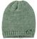 Cappello modello cuffia per bambina in tricot melange sarabanda VERDE SALVIA-4715