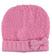 Cappello modello cuffia per bambina in misto lana bouclè sarabanda CICLAMINO - 2812
