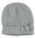 Cappello modello cuffia per bambina in misto lana bouclè sarabanda GRIGIO MELANGE - 8992