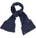 Sciarpa per bambina in lana bouclè sarabanda NAVY - 3854