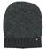 Cappellino per bambina a forma di cuffia in tessuto bouclè sarabanda GRIGIO SCURO MELANGE-8963