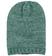 Cappellino per bambina in tricot screziato sarabanda VERDE MILITARE - 4253
