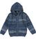 Cardigan bambino in tricot misto cotone e lana sarabanda NAVY - 3657