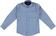 Camicia bambino a manica lunga avvitata sarabanda AZZURRO-NAVY-6N85