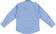 Camicia classica bambino 100% cotone fantasia jacquard sarabanda AZZURRO-MICROFANTASIA-6P63 back