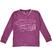 Maglietta bambino 100% cotone fiammato con scollo a V sarabanda PRUGNA-2827