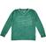 Maglietta bambino 100% cotone fiammato con scollo a V sarabanda VERDE-4512