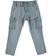 Comodo e pratico pantalone per bambino modello cargo sarabanda GREY - 3948