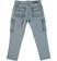 Comodo e pratico pantalone per bambino modello cargo sarabanda GREY - 3948 back