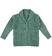 Cardigan mélange per bambino in misto lana, acrilico e mohair sarabanda VERDE MILITARE - 4253