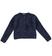 Morbido cardigan bambina in speciale tricot lurex effetto pelliccia sarabanda NAVY - 3854