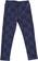 Raffinato leggings bambina con parte davanti doppiata in pizzo sarabanda NAVY - 3854
