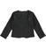 Elegante giacca per bambina in bouclè sarabanda NERO - 0658 back
