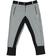 Pantalone bambina in felpa con inserti a contrasto sarabanda ANTRACITE-NERO - 8174