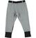 Pantalone bambina in felpa con inserti a contrasto sarabanda ANTRACITE-NERO - 8174 back