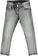 Pantalone jeans slim fit delavato sarabanda NERO - 7990