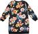 Vestitino bambina in felpa floreale con collo girocollo sarabanda BIANCO-NERO-FIORI - 6N72 back