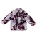 Pellicciotto ecologico per bambina foderato in jersey sarabanda VIOLA CHIARO-VIOLA SCURO-8353 back