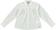 Camicia bambina in cotone modello con soffi sarabanda PANNA-0112