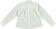 Camicia bambina in cotone modello con soffi sarabanda PANNA-0112 back