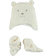 Simpatico kit unisex in morbida pelliccetta sintetica minibanda PANNA - 0112