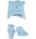 Simpatico kit unisex in morbida pelliccetta sintetica minibanda SKY - 5818