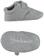 Scarpette neonato realizzate in raffinato tessuto armaturato minibanda GRIGIO MELANGE - 8969