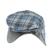 Cappello modello coppola per neonato minibanda GRIGIO-BLU-8225 back