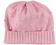 Cappello neonata a cuffia in tricot minibanda ROSA - 2752