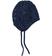 Cappellino in tricot per neonata minibanda NAVY - 3854