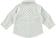 Camicia neonato 100% cotone con fantasia sbarazzina minibanda PANNA-BLU - 6N27 back