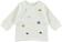 Maglietta girocollo stile marinaro per neonato minibanda PANNA - 0112