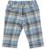 Pantalone per neonato con fantasia a quadri minibanda GRIGIO-BLU - 8225 back
