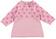 Mini abito per neonata a pois minibanda ROSA - 2752
