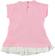 Mini abito per neonata con fiocco laterale minibanda ROSA - 2752 back