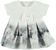Vestitino neonata in tessuto dalla consistenza morbida e compatta minibanda GRIGIO - 0571