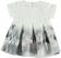 Vestitino neonata in tessuto dalla consistenza morbida e compatta minibanda GRIGIO - 0571 back