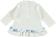 Maxi maglietta per neonata in caldo cotone al 100% minibanda NAVY - 3854 back