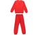 Pigiama per bambini con renna natalizia ido ROSSO-2253 back