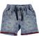 Pantaloncino corto con stampa fantasia cachemire ido DENIM-AVION - 6F74