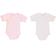 Coppia di body 100% cotone per neonata ido ROSA - 2711 back
