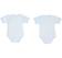 Coppia di body per neonato tessuto 100% cotone ido CIELO - 5811 back