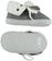 Scarpine neonato modello sneakers in ecopelle scamosciata ido GRIGIO SCURO - 0564