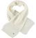 Sciarpa lavorazione maglia inglese ido PANNA-0112