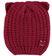 Cappellino con orecchie lavorazione a maglia inglese ido BORDEAUX-2652