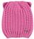 Cappellino con orecchie lavorazione a maglia inglese ido CICLAMINO-2812