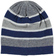 Cappellino modello cuffia a righe colorate ido NAVY - 3854