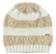 Morbido cappellino modello cuffia maglia rasata ed effetto pelliccia ido PANNA-BEIGE - 8138