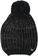 Cappellino bambina in tricot lurex misto lana ido NERO-0658